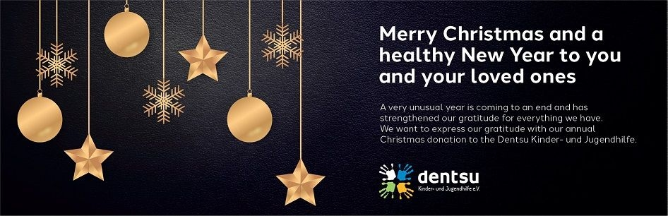 Herzlichen Dank an die Dentsu Kinder- und Jugendhilfe