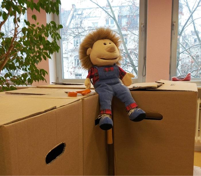 Unser Umzug ins neue Büro