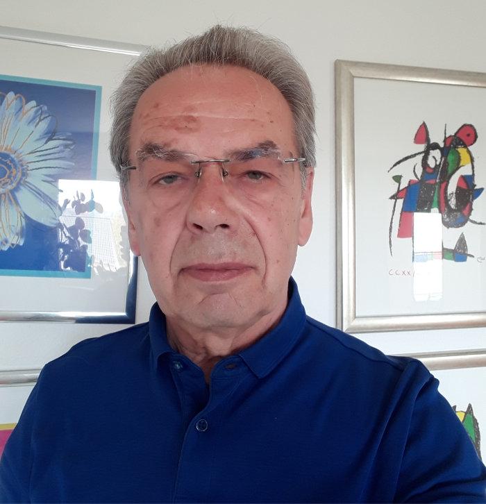 Unser neues Vorstandsmitglied Reinhard Müller
